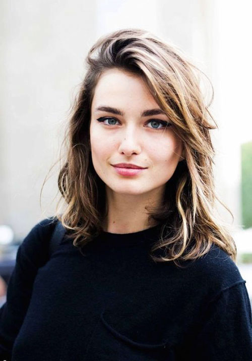 Hairstyles For Women With Shoulder Length Hair