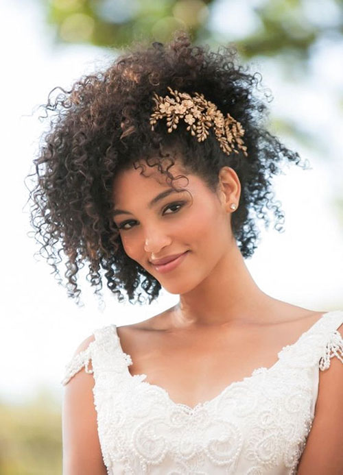 Natural Wedding Hair Ideas