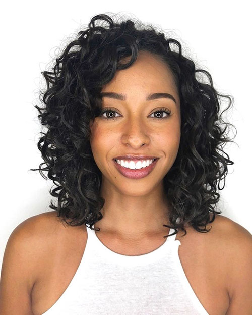 Shoulder Length Curly Haircuts