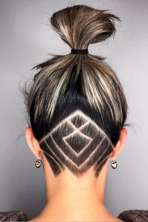 Undercut Girl Hair