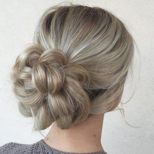 Messy Bun Hairstyles For Wedding