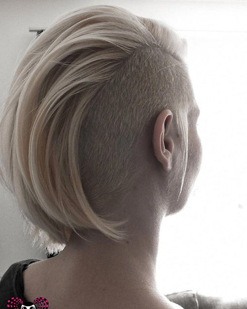 Undercut Hairstyle Girl