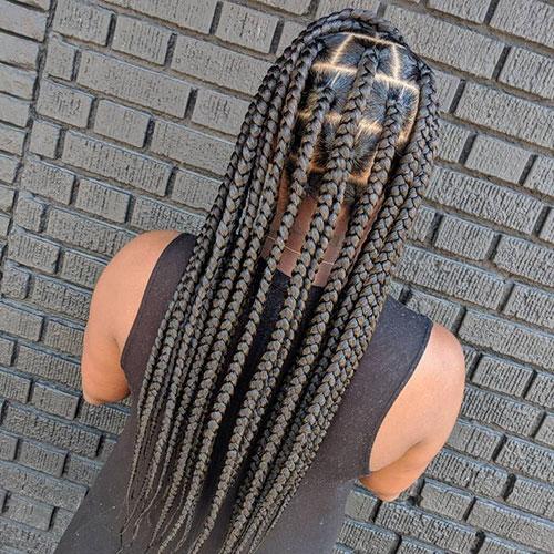 Individual Hair Braids