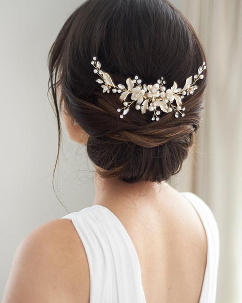 Natural Wedding Hair