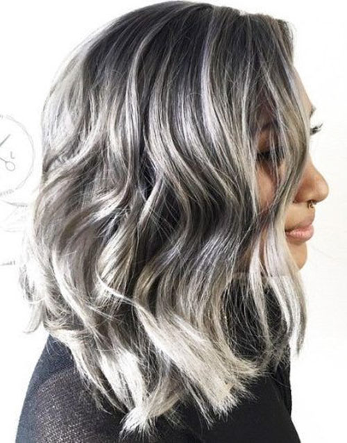 Black To Grey Hair