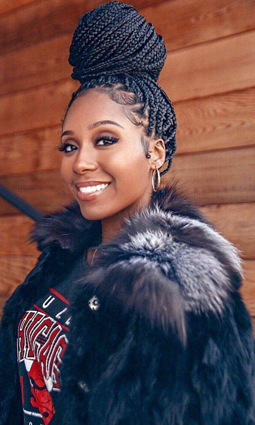 Braided Styles For Black Hair
