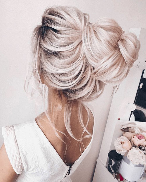 Messy Bun Hairstyles For Long Hair
