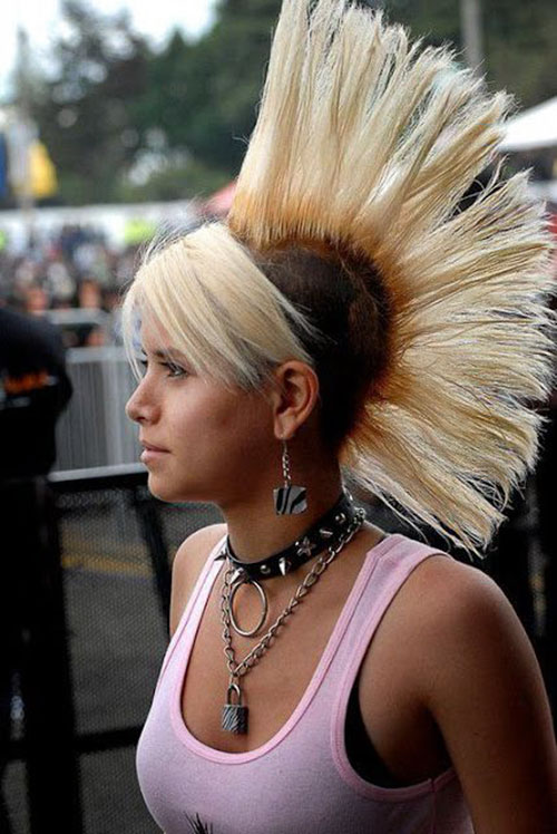 Punk Rock Hairstyles For Long Hair