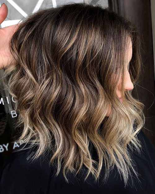 Shoulder Length Hair Styles For Women
