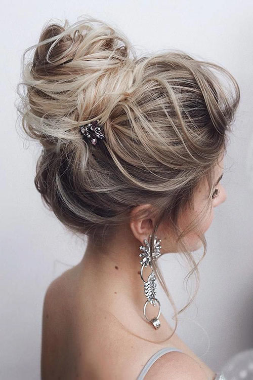 Messy Bun For Long Hair