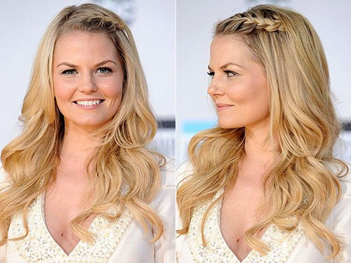Front Braid Hairstyles For Long Hair