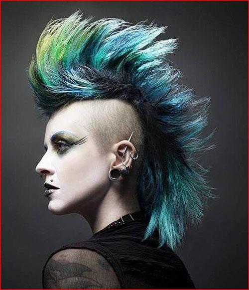 Punk Rock Haircuts For Long Hair