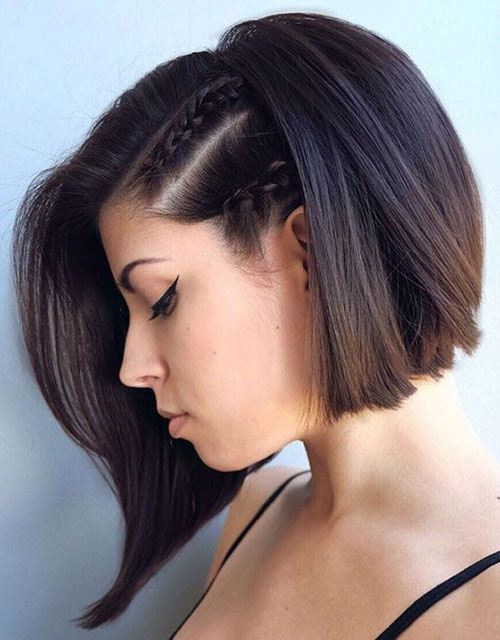 Side Braid Long Hair