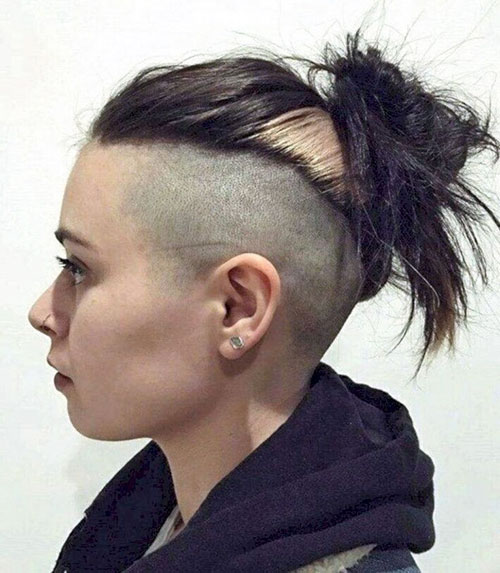 Girl Undercut Designs