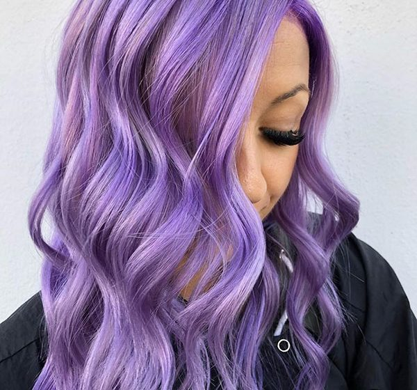 25+ Purple Hair Color Ideas That Will Add Dimension Your Face