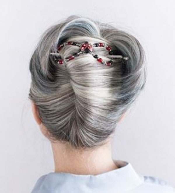Grey Hair Ideas