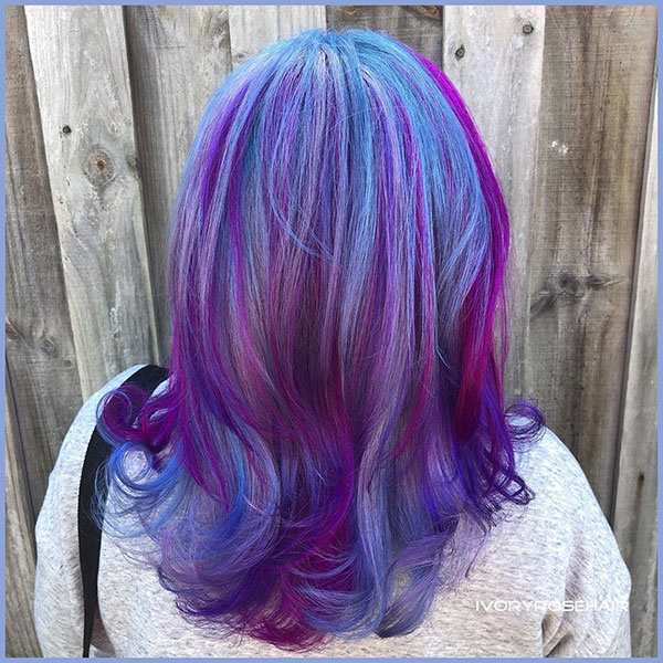 Purple Hair Images