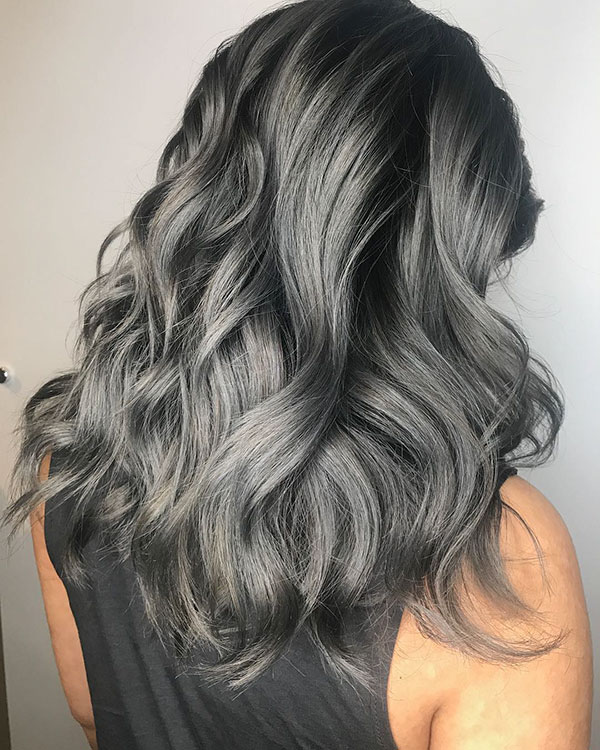 Images Of Grey Hair