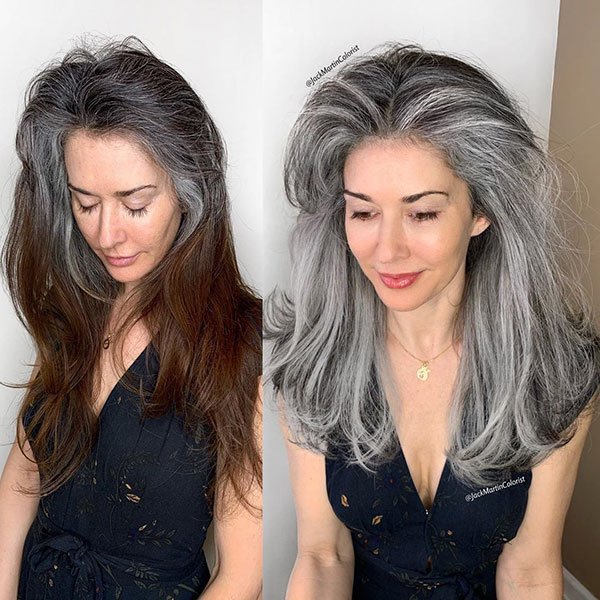 Best Grey Hair Color