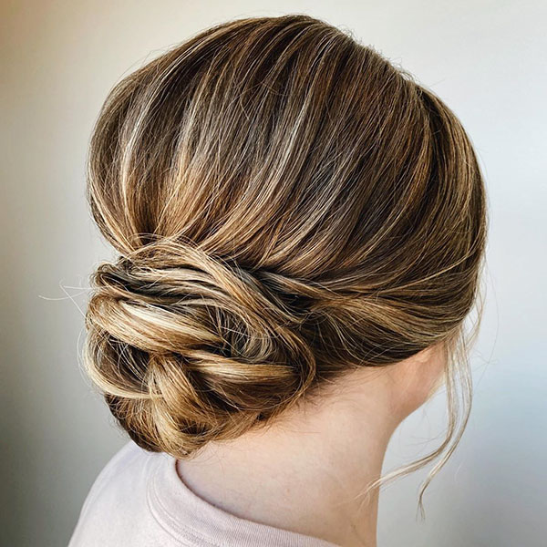 Bun Hair Images