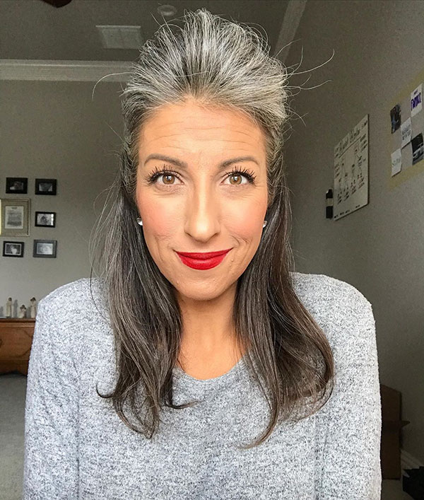 Pictures Of Grey Hair
