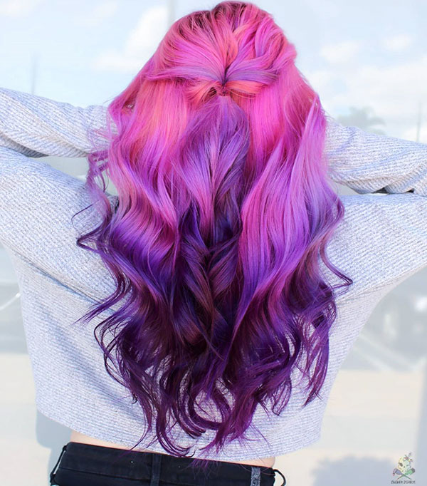 Vibrant Hair Colours