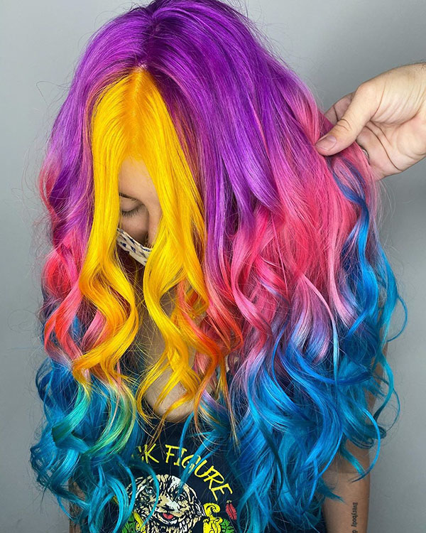 Vibrant Hair Color Images