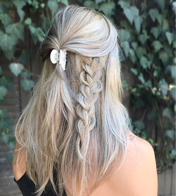 Half Up Hairstyles For Girls