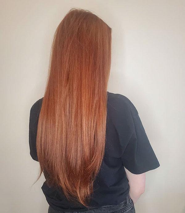 Beste rote Haarfarbe