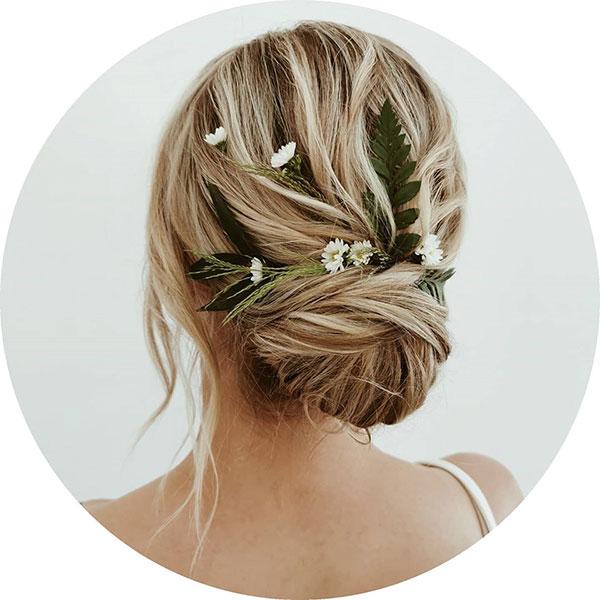 Hair Bun For Bridal