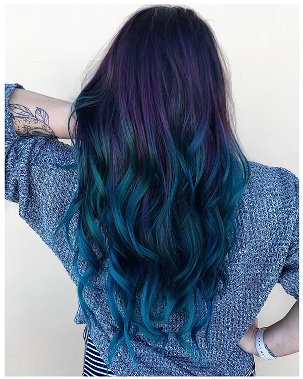 Amazing Vibrant Hair Color