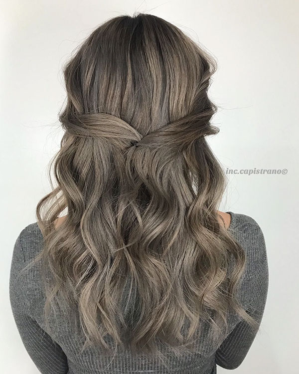 Easy Half Up Hairstyles