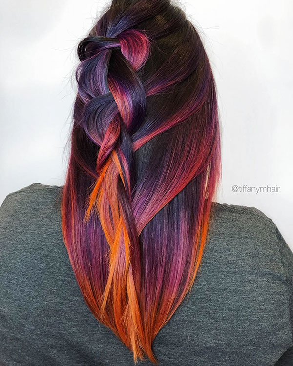 Vibrant Hair Colors 2020