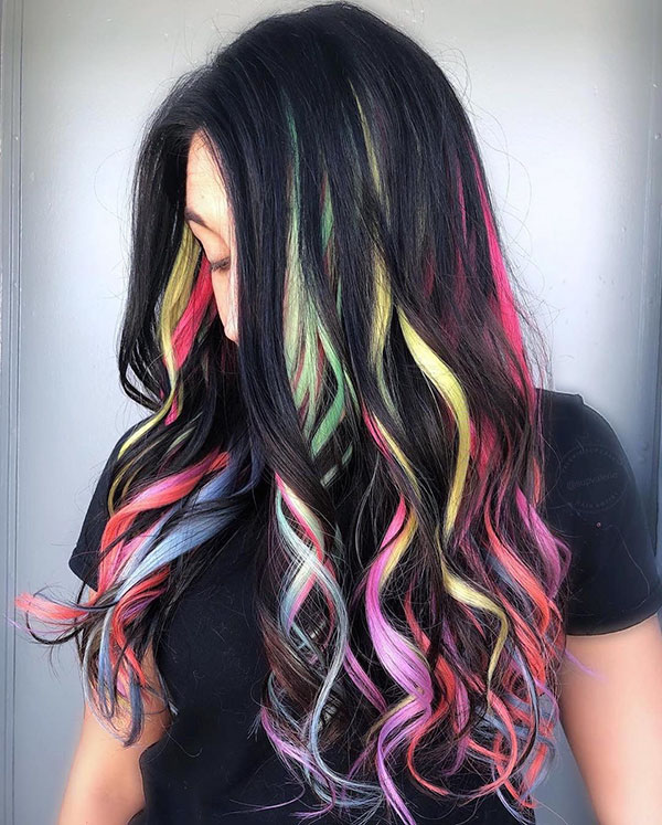 Rainbow Hair Color Pictures