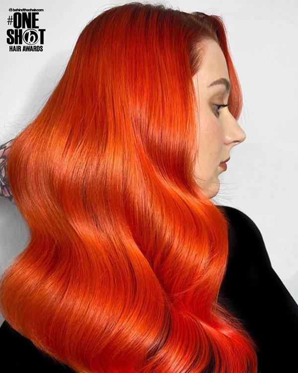 Rote Frisuren