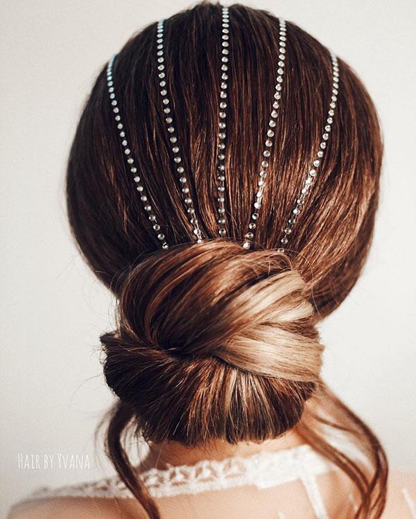 Haarknoten für Braut