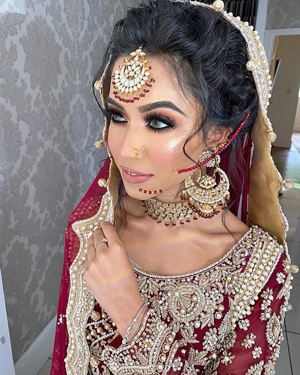 Indische Brautfrisuren