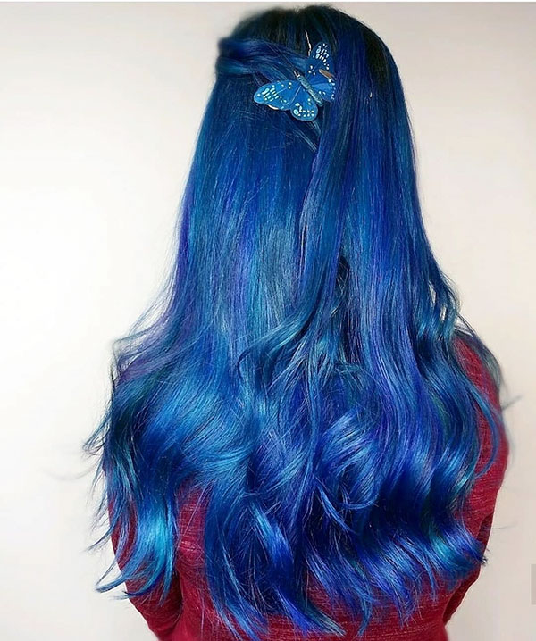 Vibrant Hair Color