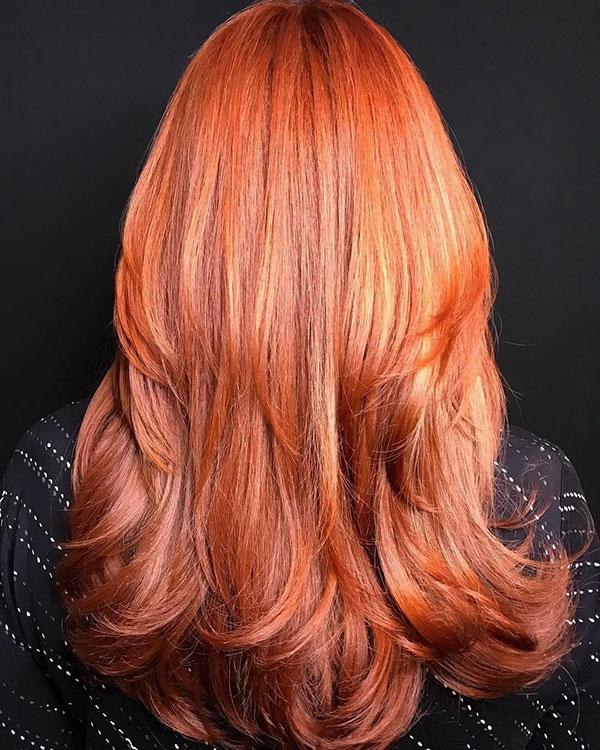 Rote Haarfarbe Bilder