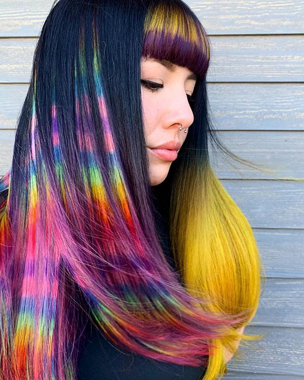 Cool Rainbow Hair