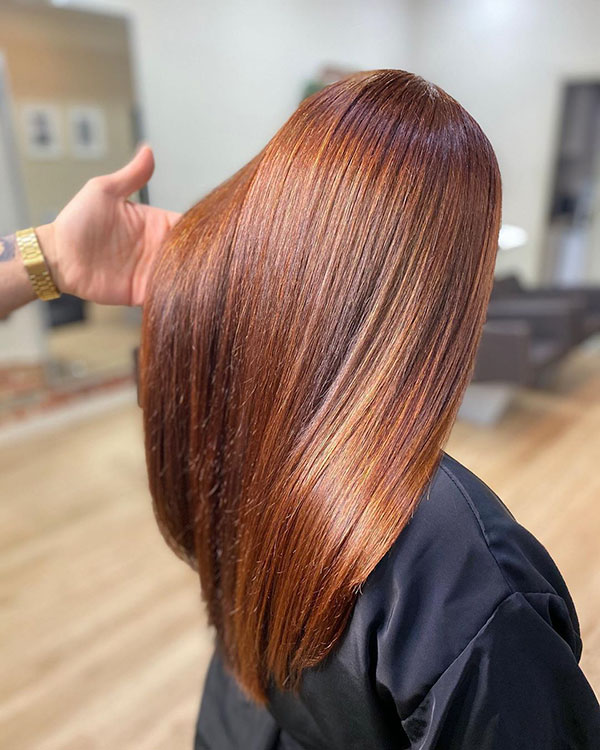 Haircuts For Vibrant Hair Color
