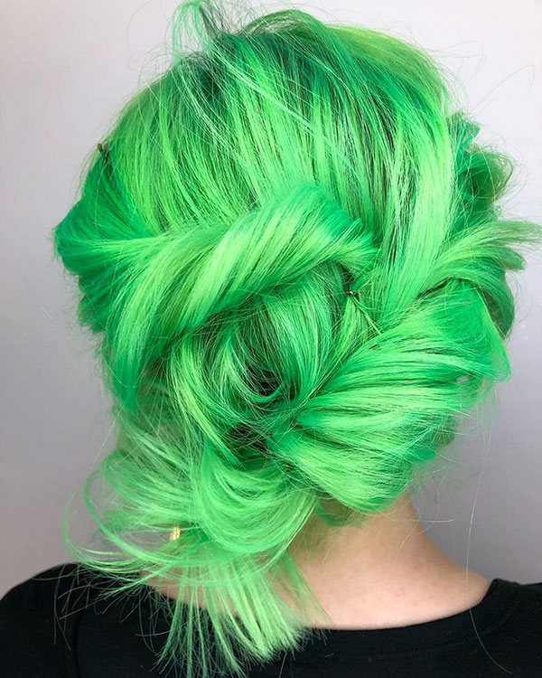 Vibrant Hair Color Styles