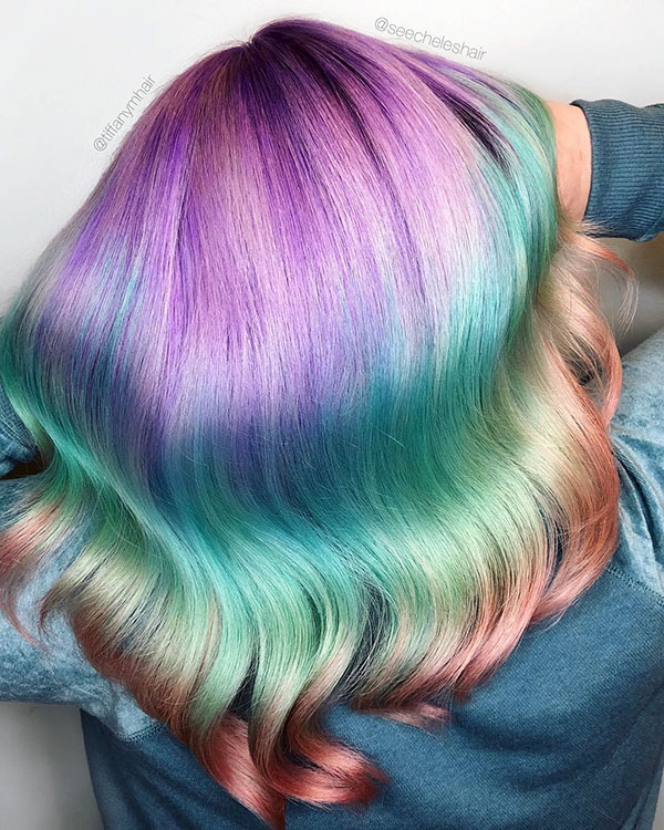 Vibrant Hair Color Pictures