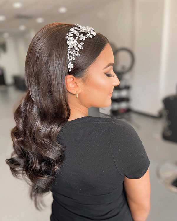 Latest Bridal Hair Style