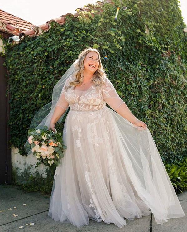 Romantische Brautfrisuren