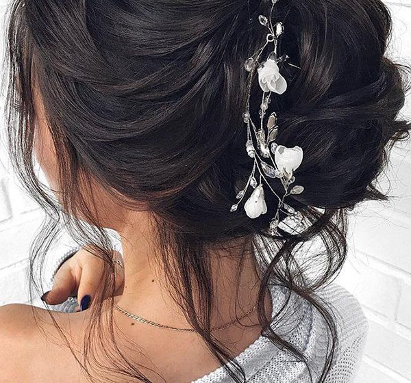 30 Wedding Hair Pictures That'll Help You Create A Chic Hairstyle